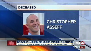 firefighter dies Cape Coral