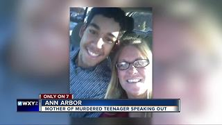 Mother of murdered teenager speaks out - Video