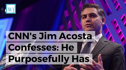 CNN's Jim Acosta Confesses: He Purposefully Has 'Attitude' When Covering Trump - And He's Not Sorry