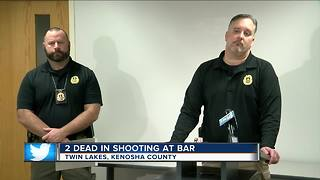 2 brothers killed, suspect arrested in shooting outside Kenosha County bar - Video