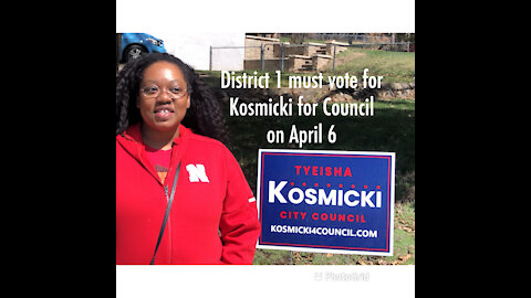 Kosmicki for District 1 City Council