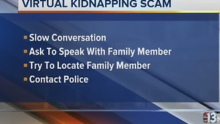 Warning about kidnapping scam - Video