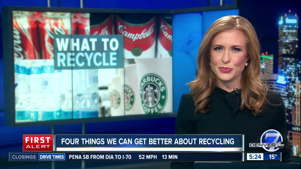 4 things we can get better about recycling