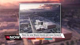 Wayne County, Dan Gilbert agree to build new $533M criminal justice center in Detroit - Video