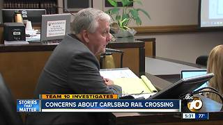 TEAM 10: concerns about Carlsbad rail crossing - Video