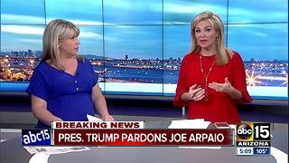 BREAKING: President Trump pardons ex-Sheriff Joe Arpaio - Video