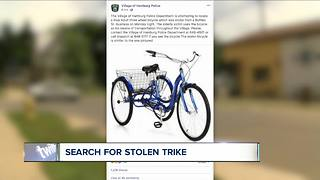 Search for stolen trike - Video