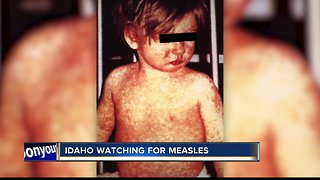 Washington measles outbreak is causing concern among Idaho health officials