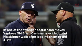 Joe Girardi Finally Opens Up After Parting Ways With Yankees - Video