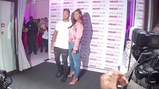 Dominic Lever and Jessica Shears attend Mean Girls event in London - Video