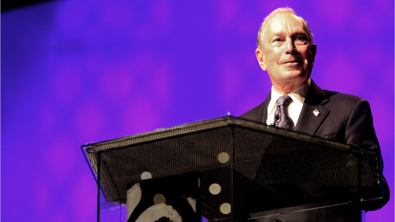 Michael Bloomberg officially enters 2020 race