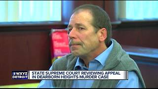 Michigan Supreme Court hears Dearborn porch shooting trial - Video