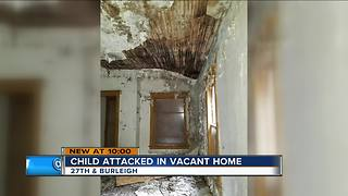 12-year-old sexually assaulted in home set to be demolished - Video