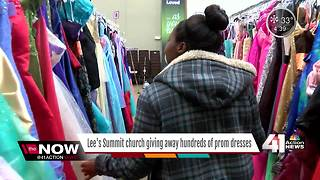 Church to give away prom dresses to KC students - Video