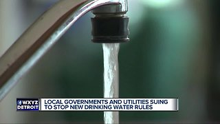 Local government and utilities suing to stop new drinking water rules