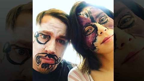 Channing Tatum and Jenna Dewan Get Glammed Up By Their Toddler