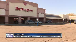 Female worker allegedly shoots, kills coworker at Burlington Coat Factory in Taylor - Video