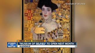 'Museum of Selfies' to open January 2018 in Glendale - Video