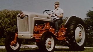 The 'All New' Ford tractor (1953) - Video