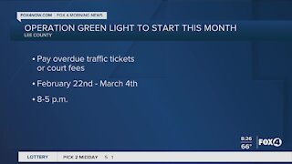 Operation green light to start in February