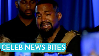 Kanye West BREAKS DOWN At His 1st Political Rally And REVEALS Kim K Almost Did Not Have North!