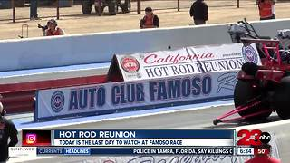 26th Annual Hot Rod Reunion ends today - Video