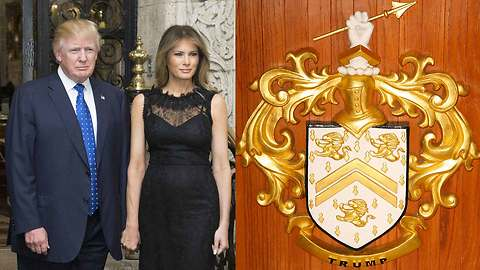 Donald Trump Moves to Lock Down Controversial Family Crest for Racks on Racks