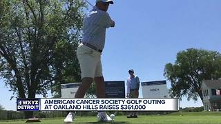 Oakland Hills hosts American Cancer Society golf outing - Video