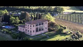 Drone footage captures superb landscapes of Tuscany - Video