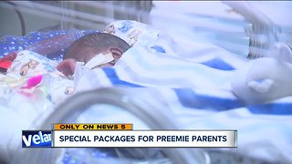 Nonprofit group makes special holiday delivery to parents of premature babies