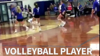 Volleyball Player May Have The Best Play Of The Year - Video