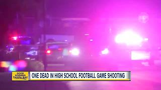 Jacksonville shooting at high school football game - Video