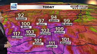 13 First Alert Las Vegas Weather for September 1 2017 - Video