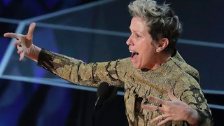 Frances McDormand Wins Best Actress; Asks EVERY Female Nominee To Stand With Her | 2018 Oscars