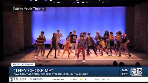 Valley Youth Theatre streaming play about adoption process