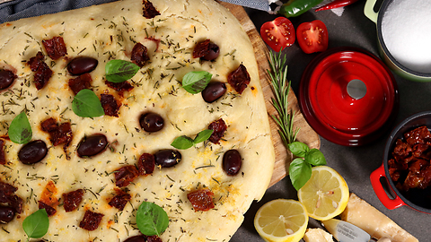 Delicious homemade focaccia recipe