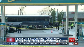 Lawsuite filed against Greyhound in connection to fatal shooting