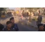 Iraqi Forces Open Fire on Kurdish Protesters Chanting, 'Get Out' - Video