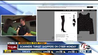 Scammers target shoppers on Cyber Monday - Video