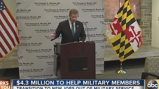 Fort Meade receives federal grant - Video