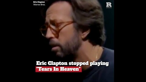 "Eric Clapton Stopped Playing ""Tears in Heaven"", Here's Why"