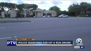 Man killed while crossing 45th Street in West Palm Beach - Video