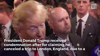 Trump Was Exactly Right About the Former US Embassy in the UK - Video