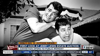 Daughter of Jerry Lewis opens up about upcoming auction - Video