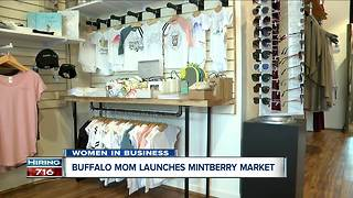 Buffalo mom launches Mintberry Market - Video