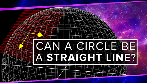 Groundbreaking Explanation About How A Circle Can Be A Straight Line