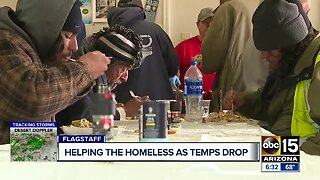 Helping the homeless as temperatures drop