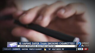 Is vaping safer than smoking cigarettes?