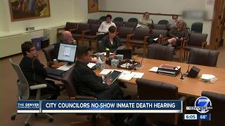 Denver councilors no-show at safety meeting on inmate death