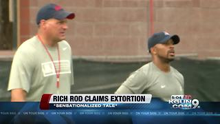 Rich Rodriguez claims extortion by former assistant - Video